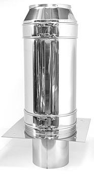 Przedłużenie komina - 2000mm - dwuścienne