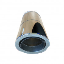 RURA REGULOWANA DWUŚCIENNA Z PRZEJŚCIEM Z / DO RURY JEDNOŚCIENNEJ 300-450mm DŁUGOŚCI I 130mm - 200mm ŚREDNICY WEWNĘTRZNEJ