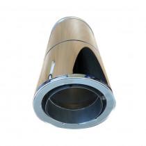 RURA REGULOWANA DWUŚCIENNA Z PRZEJŚCIEM Z / DO RURY JEDNOŚCIENNEJ 500-850mm DŁUGOŚCI I 130mm - 200mm ŚREDNICY WEWNĘTRZNEJ