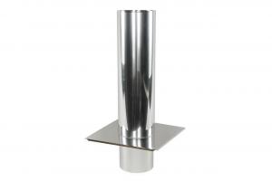 Przedłużenie komina - 1500mm - jednościenne